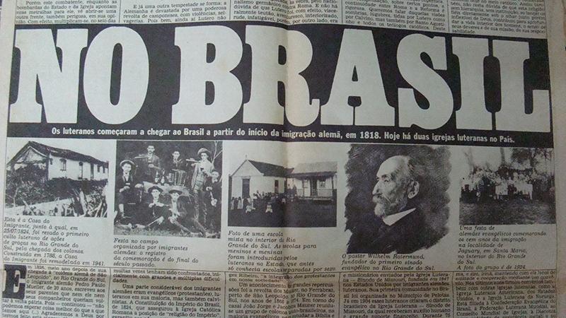Texto No Brasil, do Jornal da Tarde de 05/11/1983
