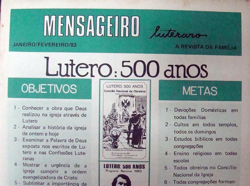 Mensageiro Luterano de janeiro/fevereiro de 1983