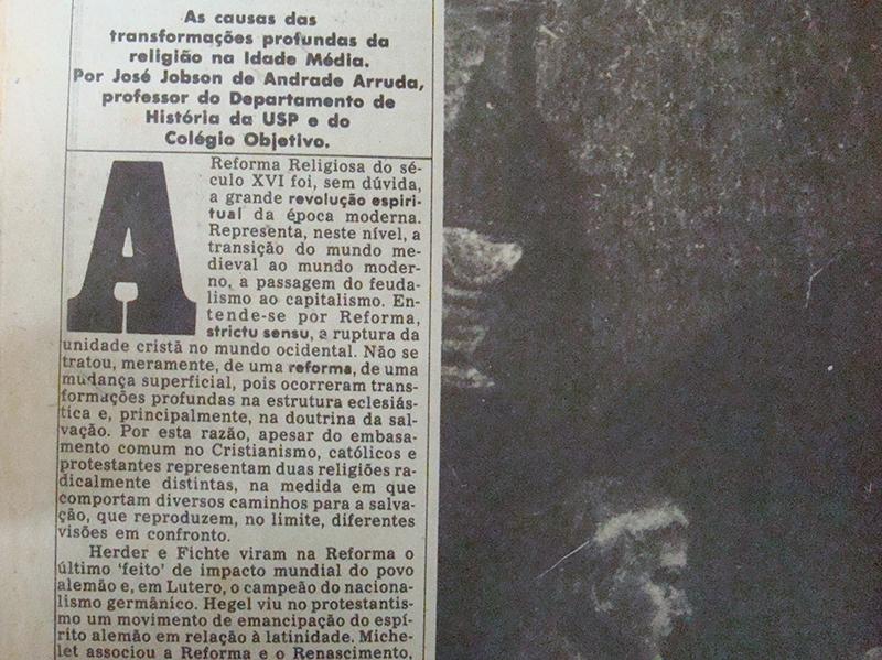 Texto A Ética, do Jornal da Tarde de 05/11/1983